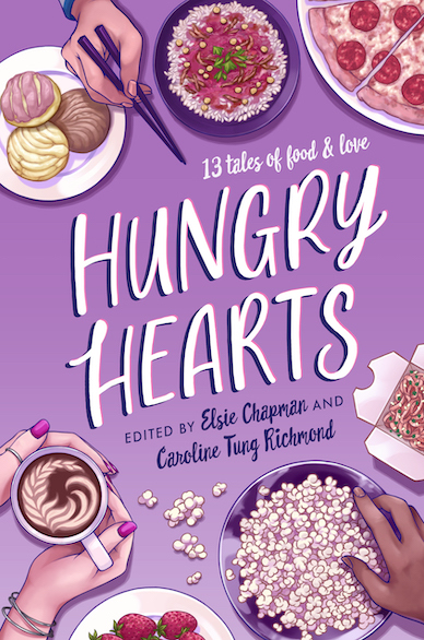 HUNGRY HEARTS paperback cover for WP